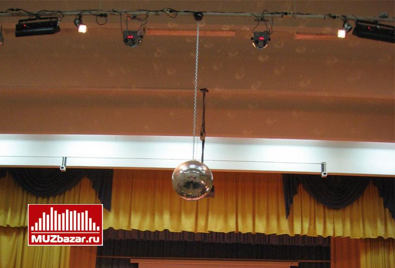 Установка светового и звукового оборудования в средней школе № 229 г. Зеленоград.