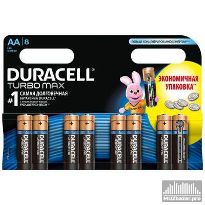 Duracell Turbo Max AA LR6 8 шт