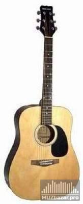 Объявление акустическая гитара martinez faw-701 с чехлом (5 фот