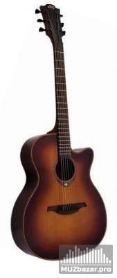 09 - 06 - 2011. электроакустической гитары LAG T100ACE-BRS. струны GHS и гитарный кабель 10 м. в подарок!